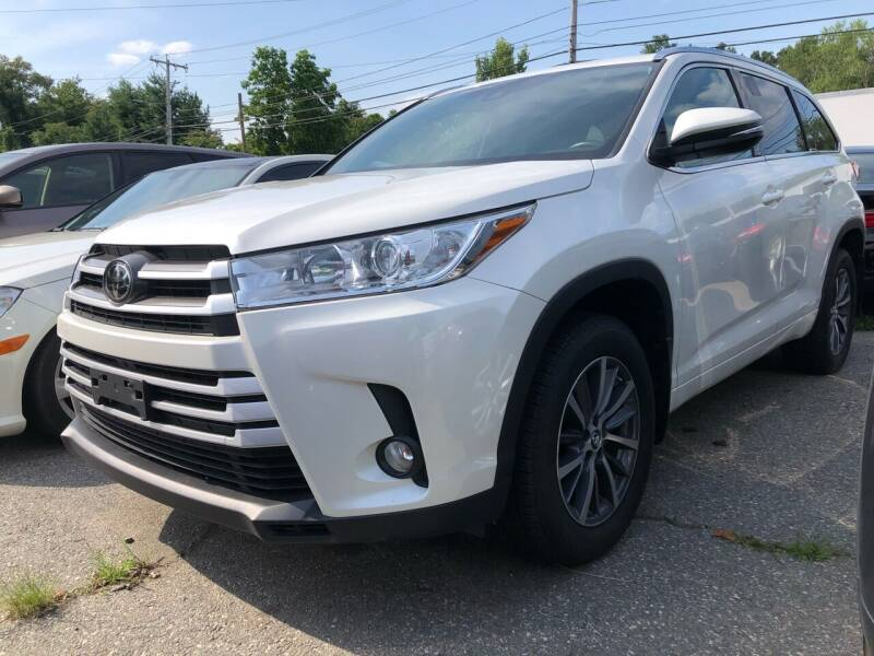 2018 Toyota Highlander for sale at Top Line Import of Methuen in Methuen MA