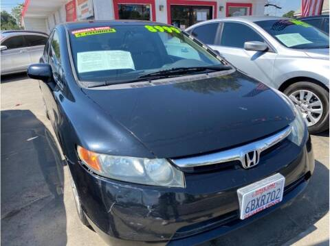 2008 Honda Civic for sale at Dealers Choice Inc in Farmersville CA