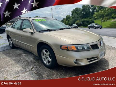 2005 Pontiac Bonneville for sale at 6 Euclid Auto LLC in Bristol VA