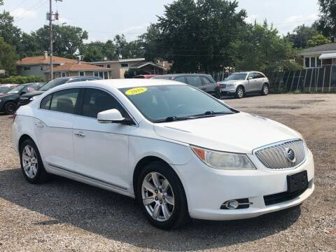 2010 Buick LaCrosse for sale at Posen Motors in Posen IL