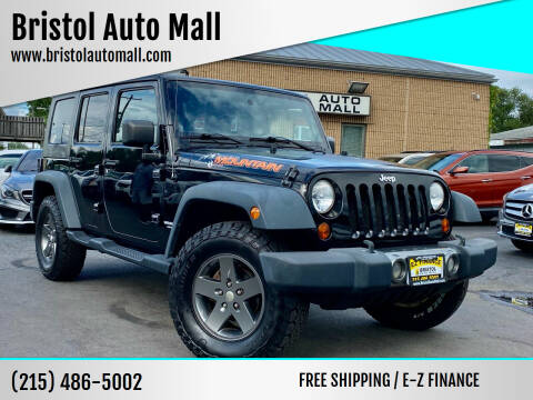 2010 Jeep Wrangler Unlimited for sale at Bristol Auto Mall in Levittown PA