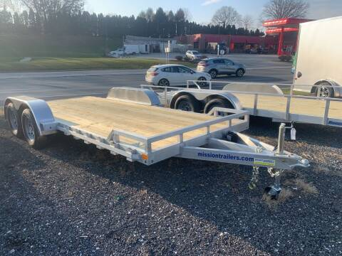 2021 Mission Aluminum Car Hauler 18' for sale at Smart Choice 61 Trailers in Shoemakersville PA