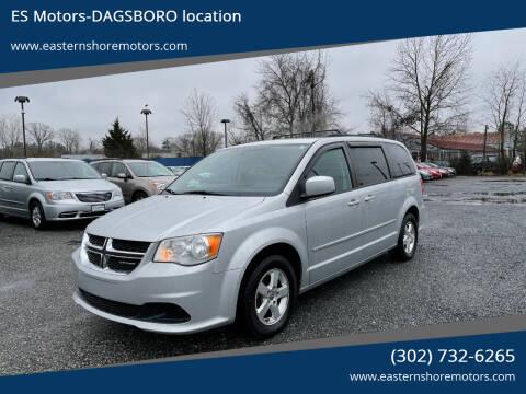 2012 Dodge Grand Caravan for sale at ES Motors-DAGSBORO location in Dagsboro DE