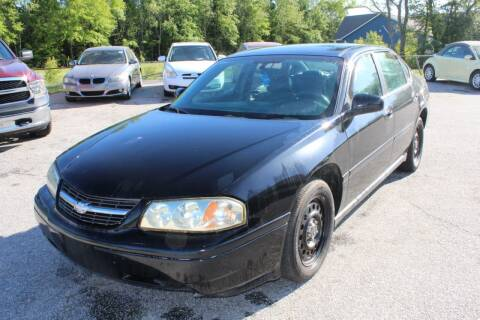 2005 Chevrolet Impala for sale at UpCountry Motors in Taylors SC