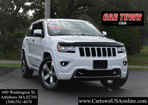 2015 Jeep Grand Cherokee for sale at Car Town USA in Attleboro MA