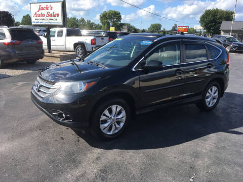 2012 Honda CR-V for sale at JACK'S AUTO SALES in Traverse City MI