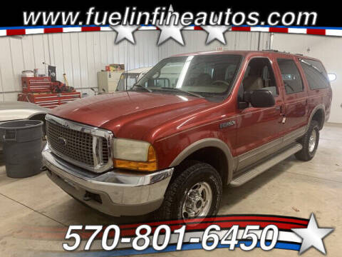 2001 Ford Excursion for sale at FUELIN FINE AUTO SALES INC in Saylorsburg PA