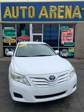 2010 Toyota Camry for sale at Auto Arena in Fairfield OH