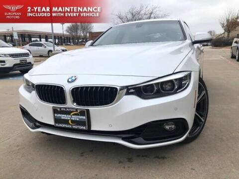 2019 BMW 4 Series for sale at European Motors Inc in Plano TX
