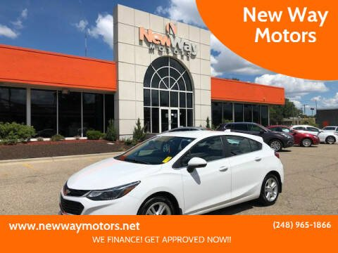 2017 Chevrolet Cruze for sale at New Way Motors in Ferndale MI