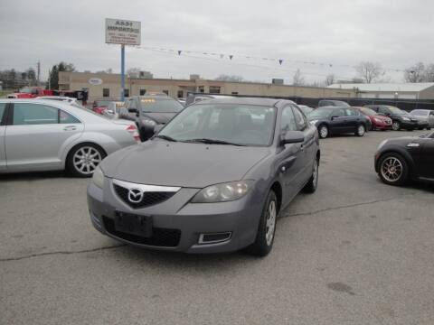 2008 Mazda MAZDA3 for sale at A&S 1 Imports LLC in Cincinnati OH