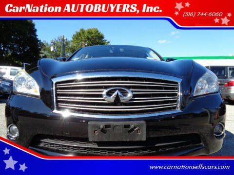 2013 Infiniti M37 for sale at CarNation AUTOBUYERS, Inc. in Rockville Centre NY