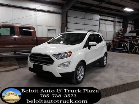 2020 Ford EcoSport for sale at BELOIT AUTO & TRUCK PLAZA INC in Beloit KS
