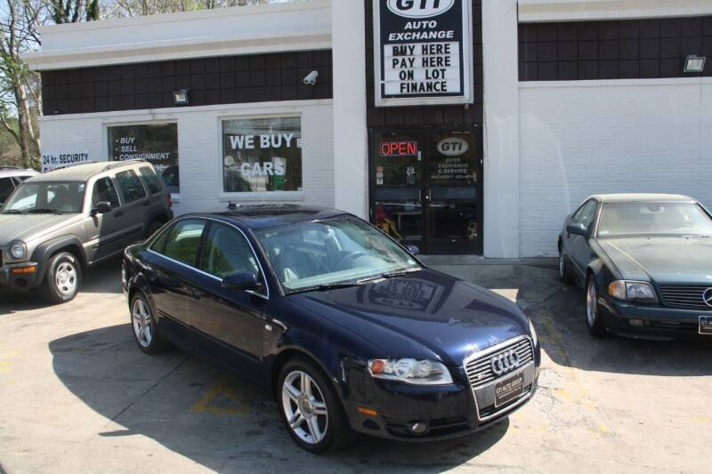 2006 Audi A4 for sale at GTI Auto Exchange in Durham NC