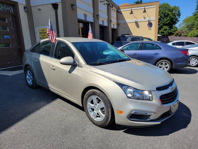 2016 Chevrolet Cruze Limited for sale at ACS Preowned Auto in Lansdowne PA