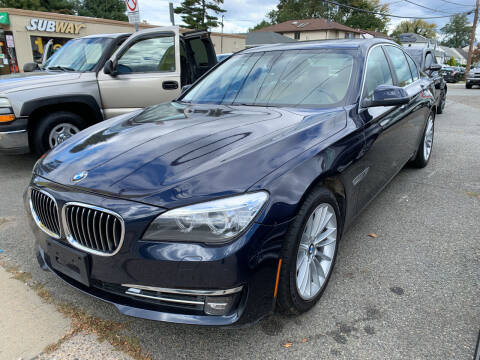 2013 BMW 7 Series for sale at Jerusalem Auto Inc in North Merrick NY