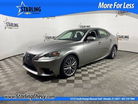 2016 Lexus IS 300 for sale at Pedro @ Starling Chevrolet in Orlando FL