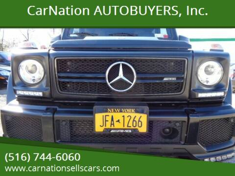 2017 Mercedes-Benz G-Class for sale at CarNation AUTOBUYERS, Inc. in Rockville Centre NY