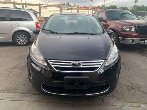 2011 Ford Fiesta for sale at Aria Auto Sales in El Cajon CA