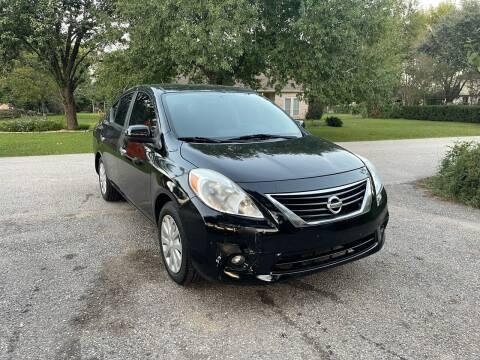 2013 Nissan Versa for sale at CARWIN MOTORS in Katy TX