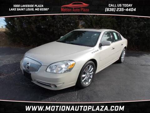2011 Buick Lucerne for sale at Motion Auto Plaza in Lakeside MO