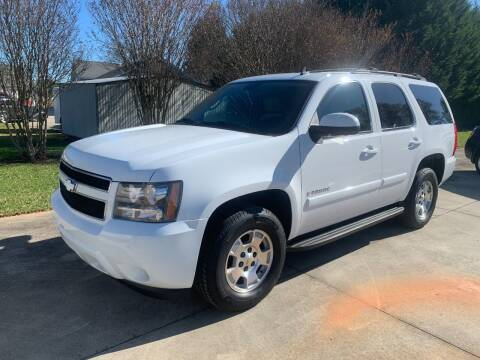2007 Chevrolet Tahoe for sale at Getsinger's Used Cars in Anderson SC