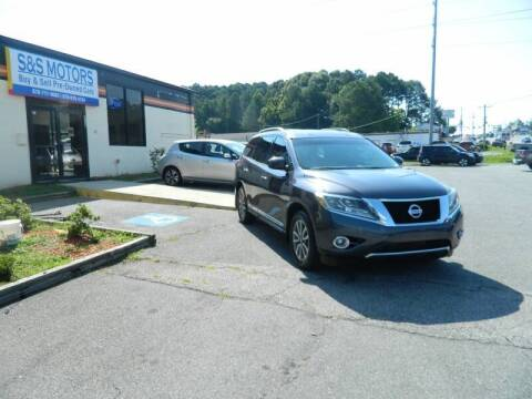 2013 Nissan Pathfinder for sale at S & S Motors in Marietta GA