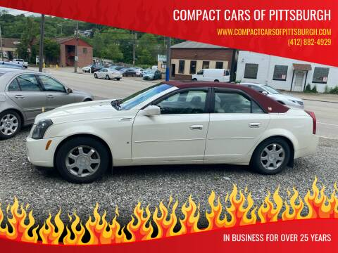 2004 Cadillac CTS for sale at Compact Cars of Pittsburgh in Pittsburgh PA