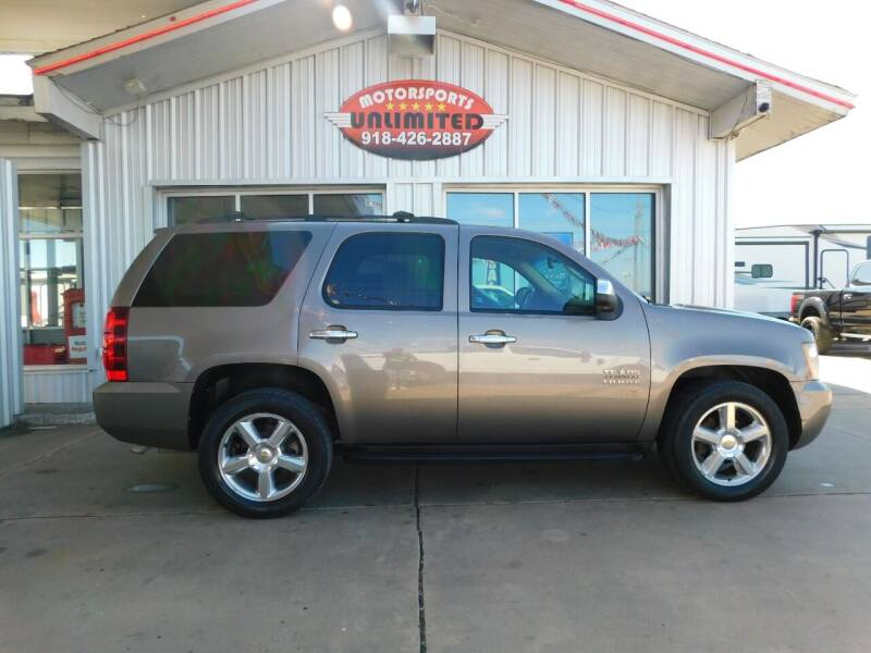 2012 Chevrolet Tahoe for sale at Motorsports Unlimited in McAlester OK