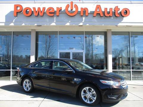 2013 Ford Taurus for sale at Power On Auto LLC in Monroe NC