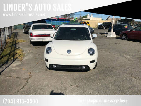 2000 Volkswagen New Beetle for sale at LINDER'S AUTO SALES in Gastonia NC