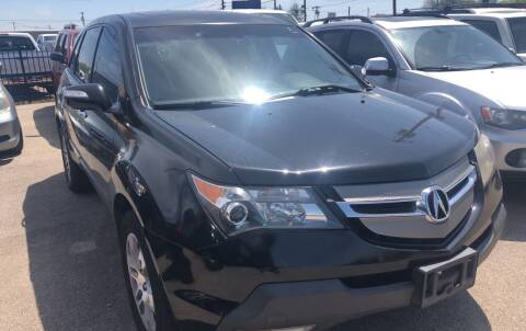2007 Acura MDX for sale at Auto Access in Irving TX