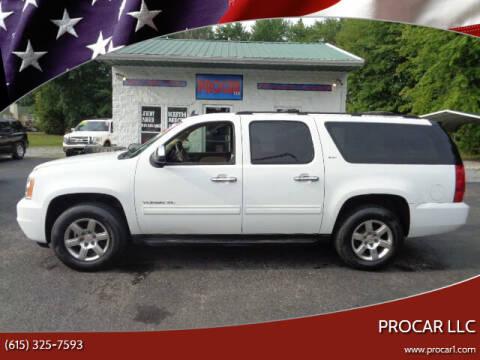 2013 GMC Yukon XL for sale at PROCAR LLC in Portland TN