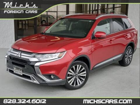 2019 Mitsubishi Outlander for sale at Mich's Foreign Cars in Hickory NC