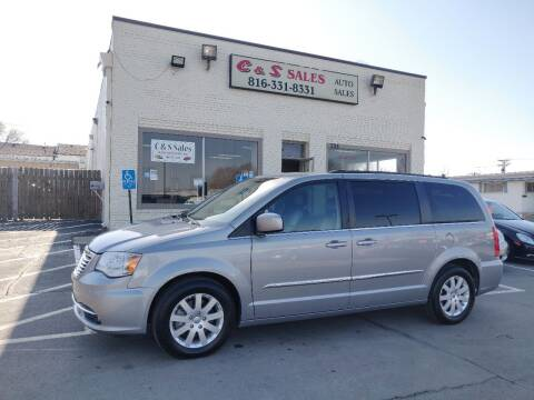 2014 Chrysler Town and Country for sale at C & S SALES in Belton MO