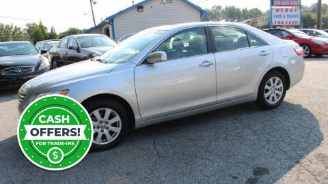 2009 Toyota Camry for sale at NORCROSS MOTORSPORTS in Norcross GA