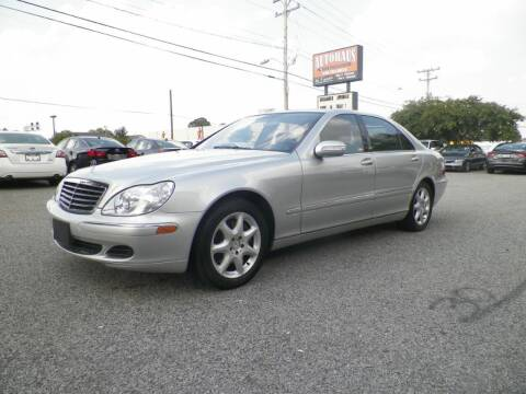 2006 Mercedes-Benz S-Class for sale at Autohaus of Greensboro in Greensboro NC
