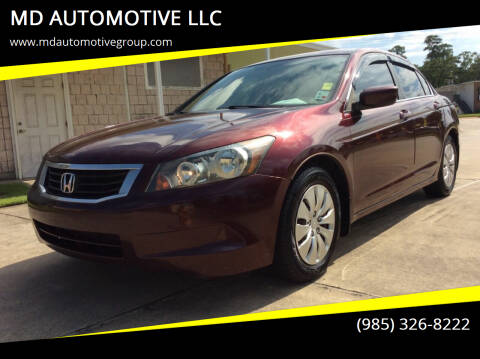 2009 Honda Accord for sale at MD AUTOMOTIVE LLC in Slidell LA