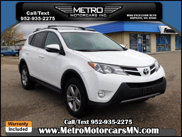 2015 Toyota RAV4 for sale at Metro Motorcars Inc in Hopkins MN