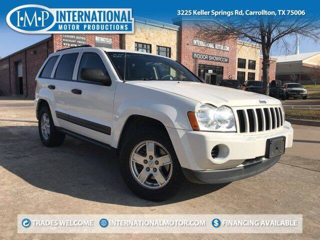 2006 Jeep Grand Cherokee for sale at International Motor Productions in Carrollton TX