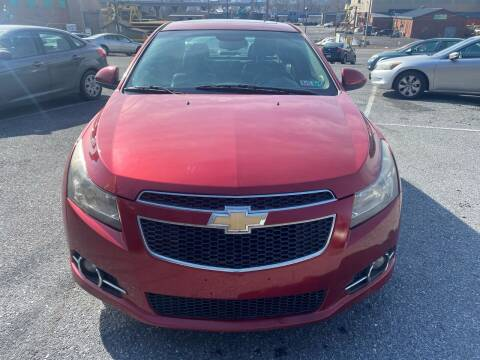 2012 Chevrolet Cruze for sale at YASSE'S AUTO SALES in Steelton PA
