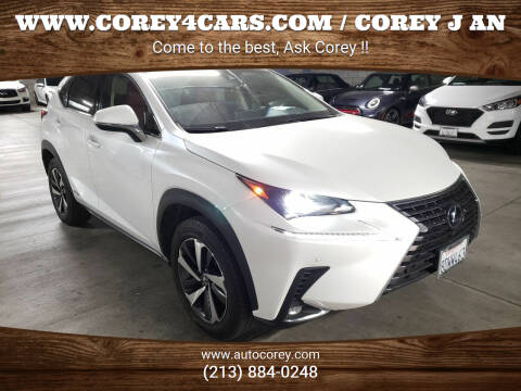 2018 Lexus NX 300h for sale at WWW.COREY4CARS.COM / COREY J AN in Los Angeles CA