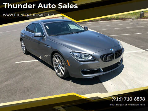 2013 BMW 6 Series for sale at Thunder Auto Sales in Sacramento CA