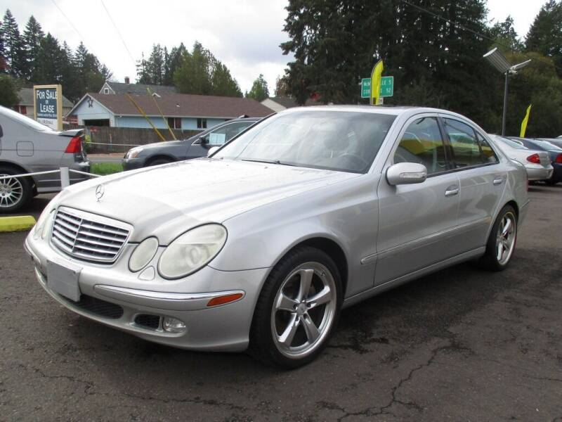 2003 Mercedes-Benz E-Class for sale at Yellow Line Motors in Lafayette OR