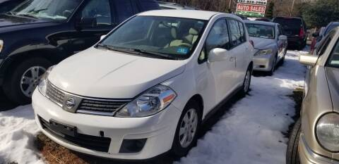 2009 Nissan Versa for sale at Central Jersey Auto Trading in Jackson NJ