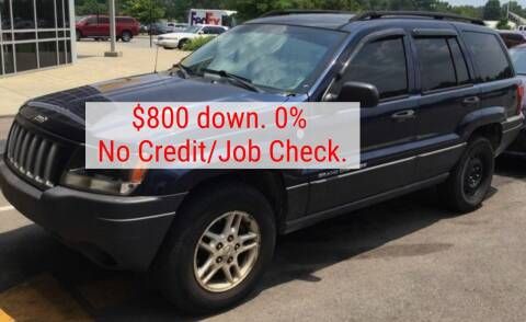 2004 Jeep Grand Cherokee for sale at D & J AUTO EXCHANGE in Columbus IN