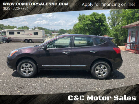 2013 Nissan Rogue for sale at C&C Motor Sales LLC in Hudson NC