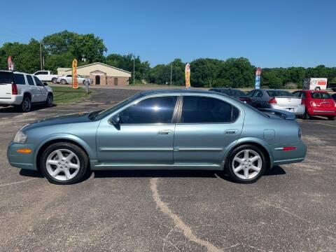 2002 Nissan Maxima for sale at Seminole Auto Sales in Seminole OK