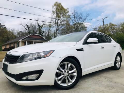 2013 Kia Optima for sale at Cobb Luxury Cars in Marietta GA