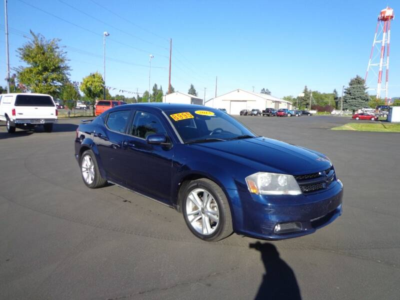 2013 Dodge Avenger for sale at New Deal Used Cars in Spokane Valley WA